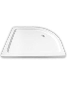 Aqualux Aqua 45 Offset Quadrant Shower Tray 1200 x 800mm - 1181057