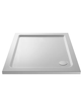 Mira Flight Safe Square Shower Tray 760 x 760mm White - 1.1697.014.AS