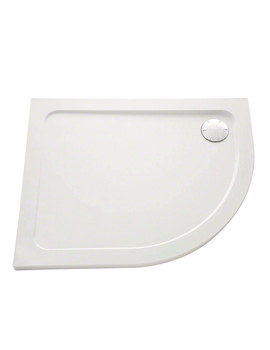 Mira Flight Low 1200 x 900mm LH Quadrant Shower Tray