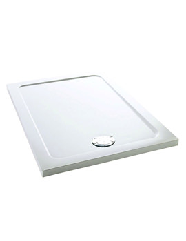 Flight 1000 x 760mm Low Rectangle Shower Tray - 1.1697.008.WH