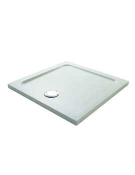 Flight 900 x 900mm Low Square Shower Tray - 1.1697.009.WH