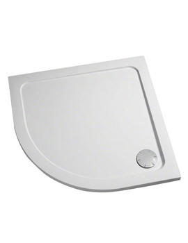 Flight Low Quadrant Shower Tray With Waste