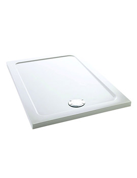 Flight 1200 x 900mm Low Rectangle Shower Tray - 1.1697.018.WH
