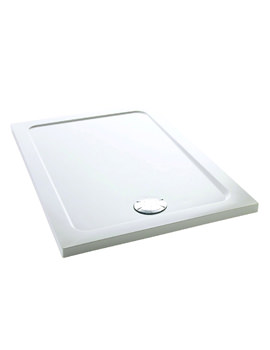Flight 1400 x 800mm Low Rectangle Shower Tray - 1.1697.019.WH