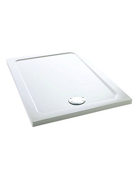 Flight 1700 x 700mm Low Rectangle Shower Tray - 1.1697.021.WH