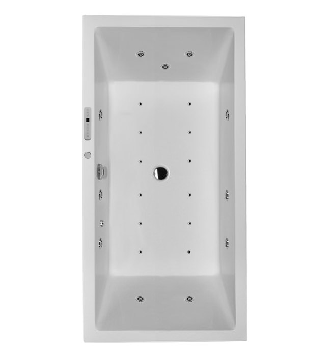Related Duravit Starck Bath 1800x900mm With 2 Backrest Slope And Combi System L