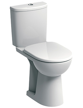 E100 Round Raised 460mm Height Close Coupled WC Suite