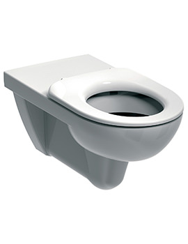 E100 Round Flushwise Wall Hung WC Pan 700mm - E11706WH