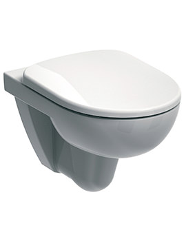 E100 Round Flushwise Wall Hung WC Pan 530mm - E11708WH