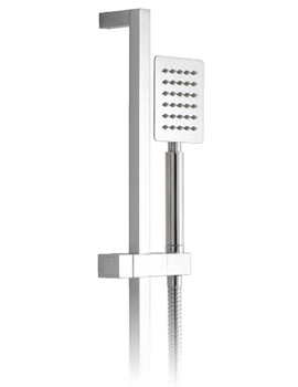 Aquablade Square Slide Rail Shower Kit - AQB-SFSRK/SQ-C/P