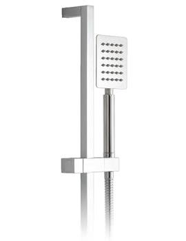 Aquablade Square Slide Rail Shower Kit - AQB-SFSRK/SQ-C/P
