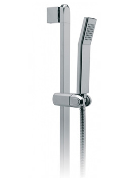 Life Single Function Slide Rail Shower Kit - LIF-SFSRK/90-C/P