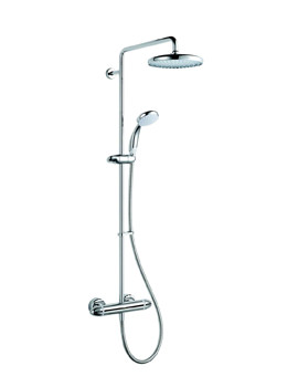 Coda Pro Chrome Shower Set - 1.1836.006