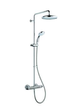 Coda Pro Chrome Shower Set - 1.1836.006