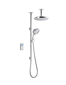 Mira Vision Ceiling Fed Dual Pumped Digital Mixer Shower