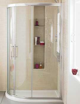 Related Lauren Apex Offset Quadrant Shower Enclosure 1200 x 800mm
