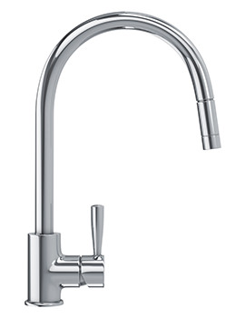 Fuji Pull Out Nozzle Kitchen Sink Mixer Tap Chrome