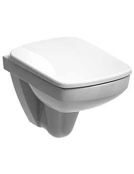 E200 Flushwise Compact Wall Hung WC Pan 480mm - E21700WH