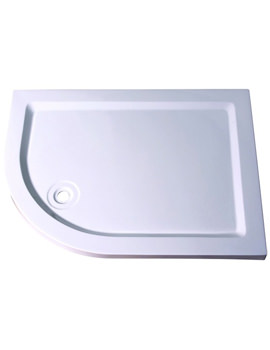 Aqualux Aqua 55 Off-Set Quadrant Tray 1200mm x 900mm LH - FTR0173AQU
