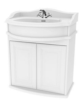 Traditional 1903 - 65 Wall Hung Basin Vanity Unit With Door