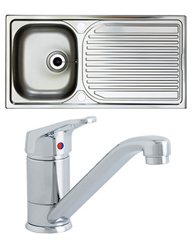 Related Astracast Aegean 1.0 Bowl Satin Polish Inset Sink And Tap Pack