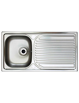 Aegean 1.0 Bowl Satin Stainless Steel Inset Sink