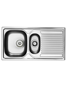 Aegean 1.5 Bowl Satin Stainless Steel Inset Sink