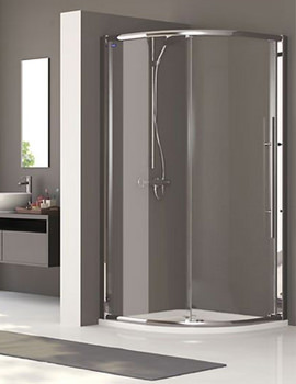 Linea Touch Quadrant Single Door 800 x 800mm - 1930800500