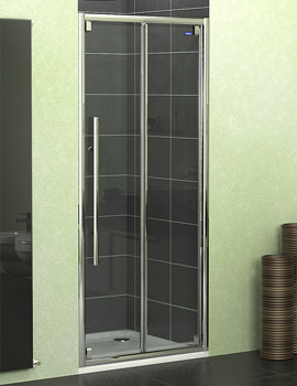Showerlux Linea Touch Bifold Shower Door 1000mm - 1881000500