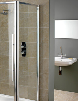 Related Showerlux Linea Touch 6mm Glass Side Panel 760mm - 1900760500