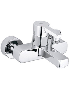 Lineare Exposed Wall Mounted Bath Shower Mixer Tap - 33849000