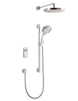 Mira Vision Rear Fed Dual Pumped Digital Mixer Shower