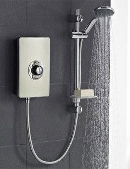 Vado Elegance Bronze And Chrome Electric Shower 8.5kW