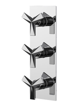 Hemsby Recessed Thermostatic Shower Valve With Twin Stopcocks
