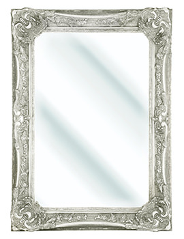 Bayswater Ivory Wooden Framed Mirror 790 x 1090mm