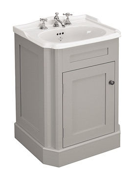 Balasani 600mm Single Door Palomba Grey Vanity Cabinet