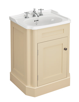 Balasani 600mm Single Door Latte Stone Vanity Cabinet