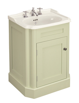 Balasani 600mm Single Door Artichoke Green Vanity Cabinet