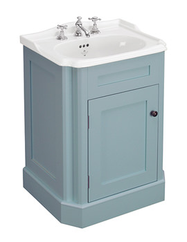Balasani 600mm Single Door Timid Teal Vanity Cabinet