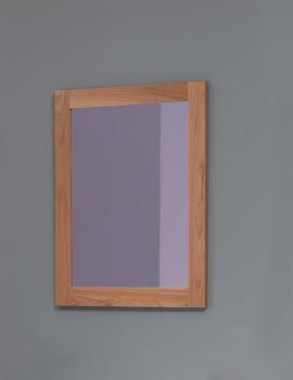 Silverdale Traditional 800 x 650mm Light Oak Mirror - MIRROR800X650LIGHTOAK