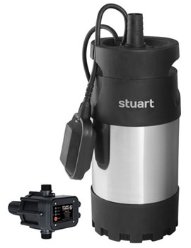 Stuart Turner Diver 35 Boostamatic Submersible Pump