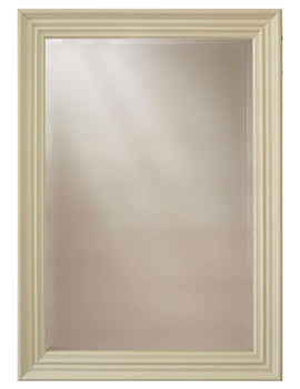 Edgeware Cream Wooden Framed Mirror 660 x 910mm - MEWCR01