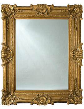Chesham Grand Amber Gold Polyurethane Framed Mirror 1420 x 2240mm