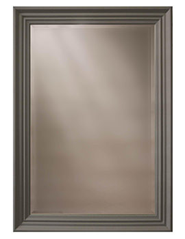 Edgeware Slate Grey Wooden Framed Mirror 660 x 910mm