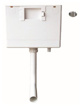 Caversham Concealed Dual Flush Cistern With Push Button