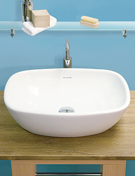 Related Silverdale Ascot 550mm 1 Tap Hole Countertop Basin - SILAS612