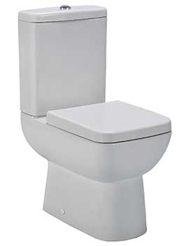 Related Lauren Renoir Semi Flush To Wall WC Pan With Cistern And Seat 585mm
