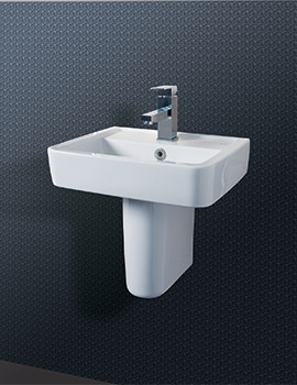 Related Silverdale Henley 450mm Cloakroom Basin - SILHE645