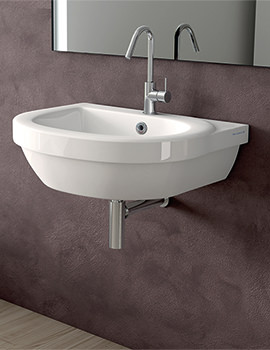 Richmond 450mm 1 Tap Hole Cloakroom Basin - SILRI645