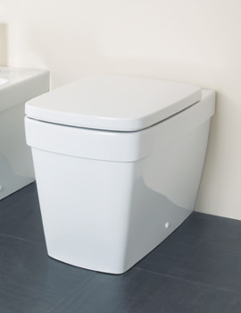 Silverdale Henley Back To Wall WC Pan - SILHE102